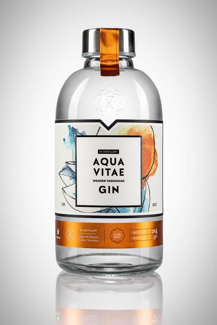 buy aqua vitae modern tasmanian gin 725ml  tasmania