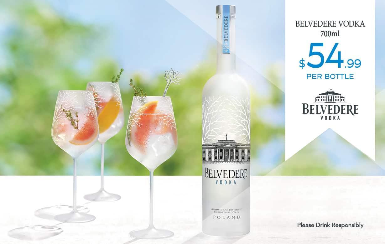 Belvedere Vodka Special