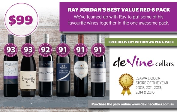 Ray Jordan Best Value Red 6pk