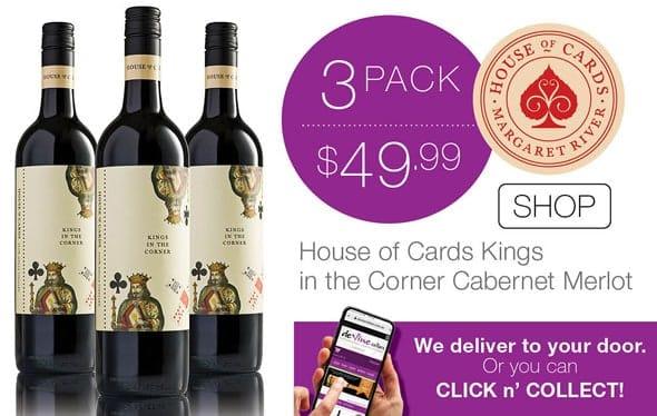 House of Cards Cabernet Merlot 3pk