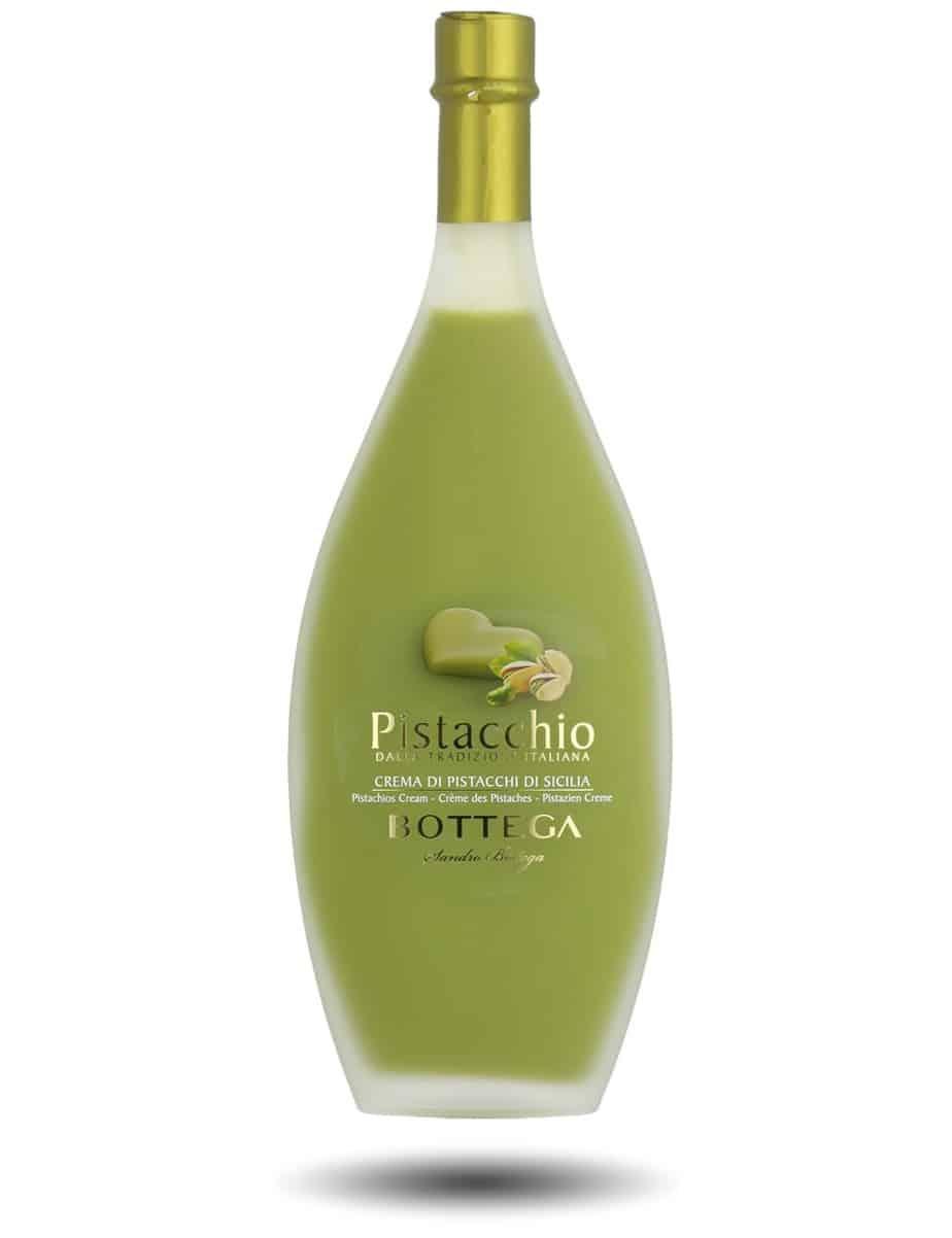 pistachio liqueur bottega cream pistacchio italy 50cl spirits creams liquors uvinum 500ml liqueurs veneto