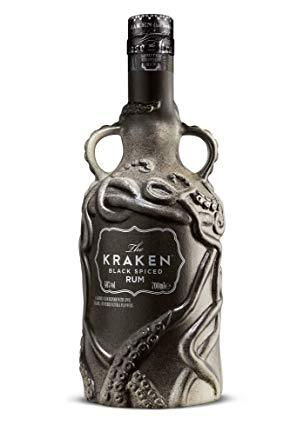 Buy Kraken Spiced Rum Ceramic Bottle 700ml Usa Online