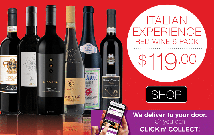 Red Wine Experience Italian 6 Pack